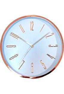 Relógio De Parede Long Numbers 32Cm - 24741