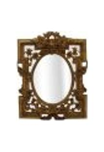Espelho Vernazza Dourado 41X32