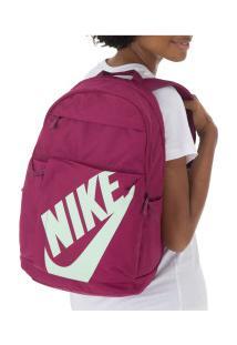 Mochila Nike Elemental - 25 Litros - Rosa Escuro