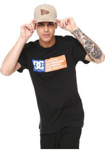 Camiseta Dc Shoes Zone Preta