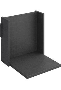 Prateleira Decorativa 29,5 Cm 1005 Mov Carbono Trama - Bentec