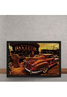 Quadro Decorativo Chrysler Town And Country 25X35
