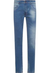 Calça Masculina Blue Medio Comfy - Azul