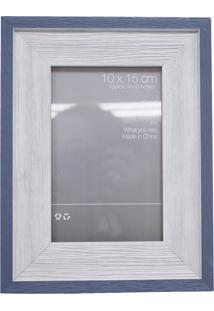 Porta Retrato Minas De Presentes Borda Azul