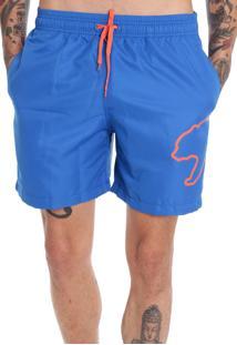 Shorts Red Life Big Urso Azul