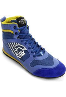 Tênis Pretorian Hook - Masculino-Azul+Amarelo