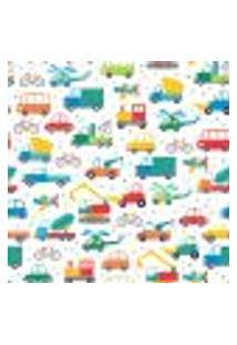Papel De Parede Carros E Transportes Adesivo 2,70X0,57M