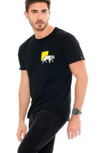 Camiseta Lavish Urso Constelação Preta