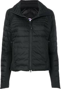 Canada Goose Zip Up Padded Jacket - Preto