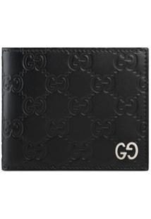 Gucci Carteira 'Gucci Signature' - Preto