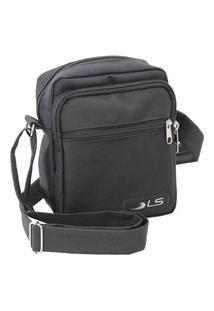 Bolsa Shoulder Bag Preta Ls Bolsas Sb5016