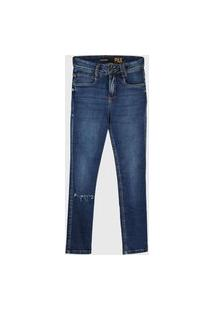 Calça Jeans Lança Perfume Skinny Pax Azul