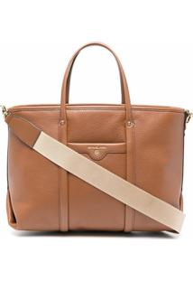 Michael Michael Kors Beck Medium Leather Tote Bag - Marrom