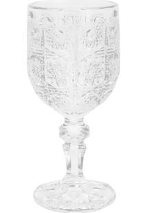 Conjunto De 6 Taças De Vidro P/Vinho De 210Ml – Linha Starry