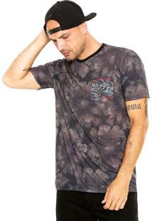 Camiseta Mcd Raven & Snake Preta
