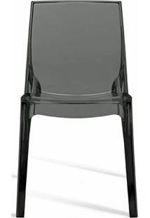 Cadeira Femme Fatale Policarbonato Fume - 18687