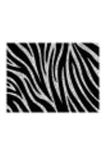 Jogo Americano (Kit 4 Unidades) Nerderia E Lojaria Zebra Grunge Colorido