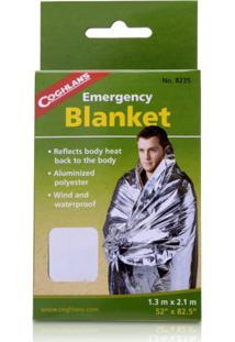 Cobertor De Emergãªncia Coghlan'S Aluminizado . - Prata - Dafiti