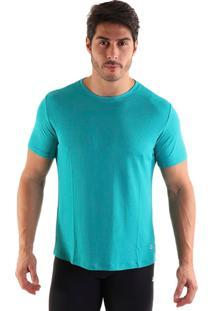 Camiseta Liquido Square - Verde Gg