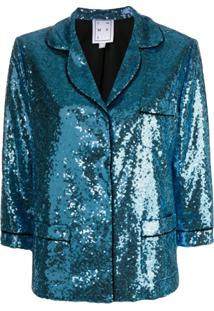 In The Mood For Love Sofia Jacket - Azul
