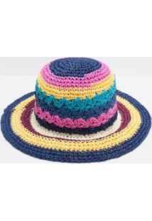 Chapéu De Praia Multicolorido