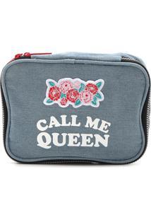 Necessaire Dmw Call Me Queen Azul