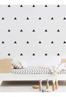 Adesivo Decorativo Stixx Mini Triângulos Preto