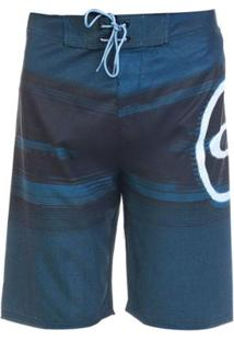 Bermuda Água Oakley Blended Boardshort - Masculino-Azul