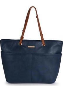 Bolsa Shopping Bag Via Uno Bolsos Marinho Marinho