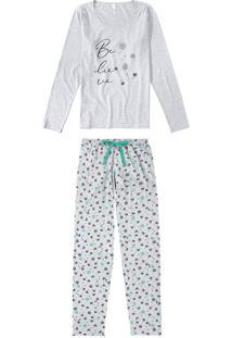 Pijama Estampado Floral Malwee Liberta