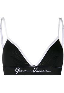 Versace Sutiã Gianni Versace - Preto