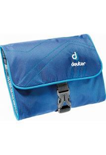 Necessaire Deuter Wash Bag I Para Viagem Com Gancho Azul