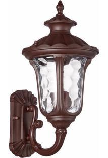 Arandela Biancoluce Colonial Marrom 36Cm Orleans Ac252P Luminárias