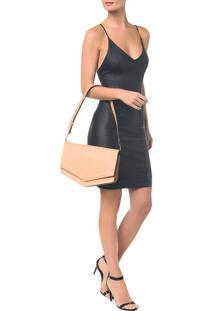 Bolsa Pocket Bag Couro Grande - Pessego Bolsa Pocket Bag Couro Grande - U