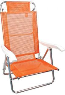 Cadeira Mor Sol De Verão Fashion Laranja
