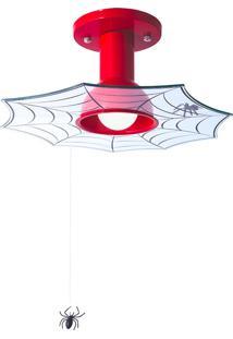 Plafon Teia 40W - Startec - Vermelho