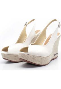 Sandalia Barth Shoes Lolita Lona - Off White - Kanui