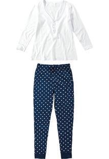 Pijama Longo Maternidade