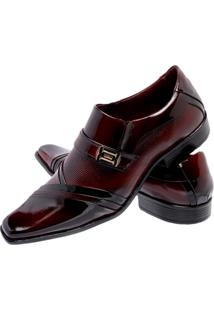 Sapato Social Gofer 751 Vermelho