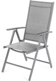Cadeira Tamandua Cinza Tela Cinza 1,07 Mt (Alt) - 43506 - Sun House