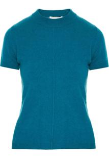 Egrey Blusa De Tricô Cashmere - Azul
