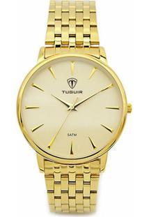 Relógio Tuguir Analógico 5041 - Feminino-Dourado