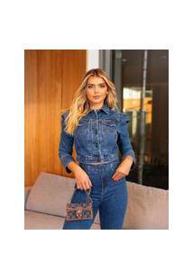 Calça Jeans Mom Feminia True Jeans Livia Com Cinto