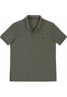 ... Camisa Polo Regular Masculina Em Malha De Algodão 4597044c4d