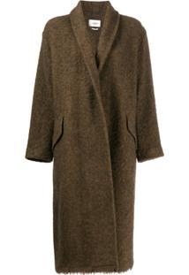 Isabel Marant Étoile Oversized Coat - Verde
