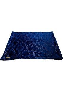 Cobertor Retangular- Azul Marinho- 60X90Cm4 Patas