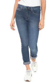 ... Calça Jeans Calvin Klein Jeans Reta Five Pockets Azul e82820759b2