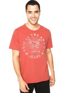 Camiseta Triton Music Coral