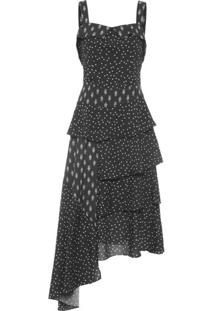 68b319ff70 Vestido Marrom Quadrado feminino