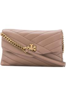 Tory Burch Kira Shoulder Bag - Marrom